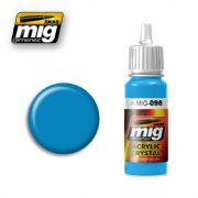 CRYSTAL LIGHT BLUE<br> A.MIG-0098